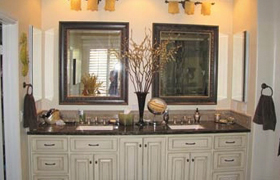 Bathroom Remodel Vanity, Counter top, Sink and Fixtures