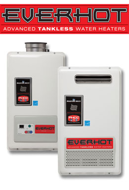 EverHot Tankless Water Heaters for your Menifee CA Home