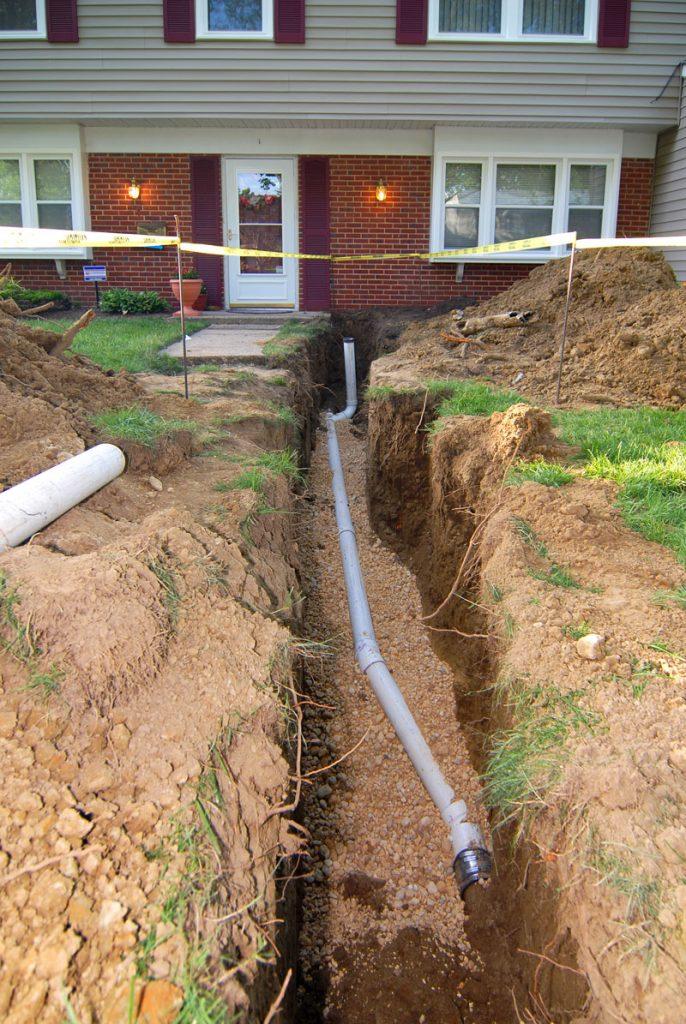 Sewer Pipe Breaks and Leaks