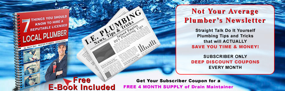 Subscribe To Iep News Amp Save Ie Plumbing Services Inc