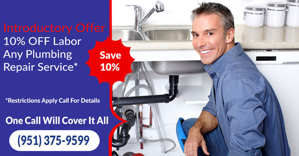 IE Plumbing Services Discount Coupon